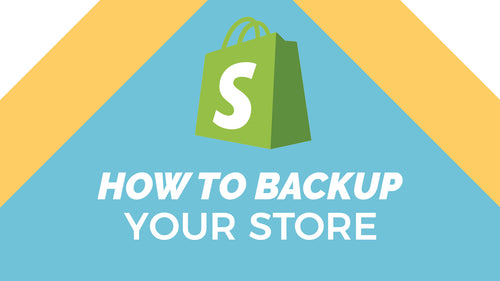 How to Backup Shopify Pages, Products, Themes, Navigations, Collections and more!