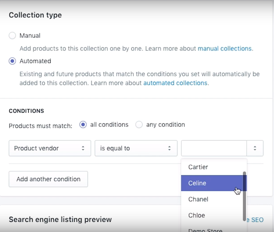 How to Set Up a Collection in Shopify – Sunbowl