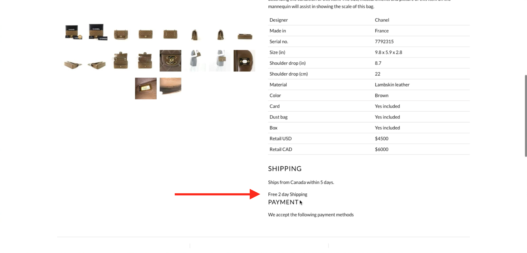Shopify merchant is checking page to see if the code works