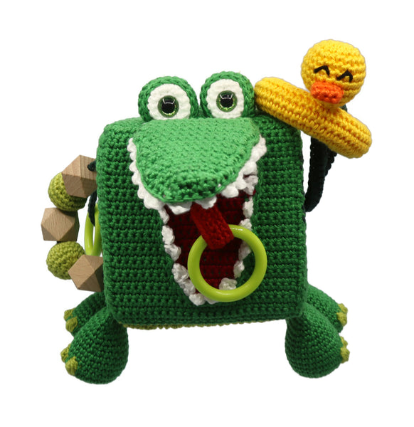 Activity Cube Crocodile