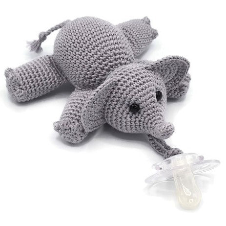 Pacifier Buddy Elephant