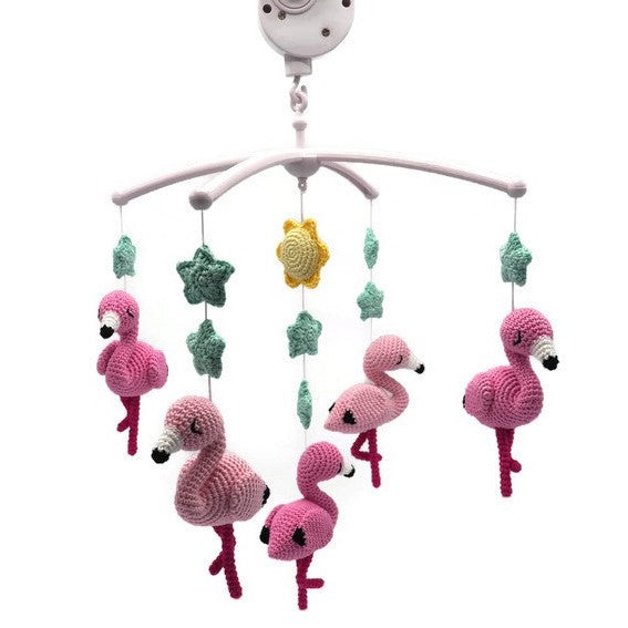 Baby Mobile Flamingo's