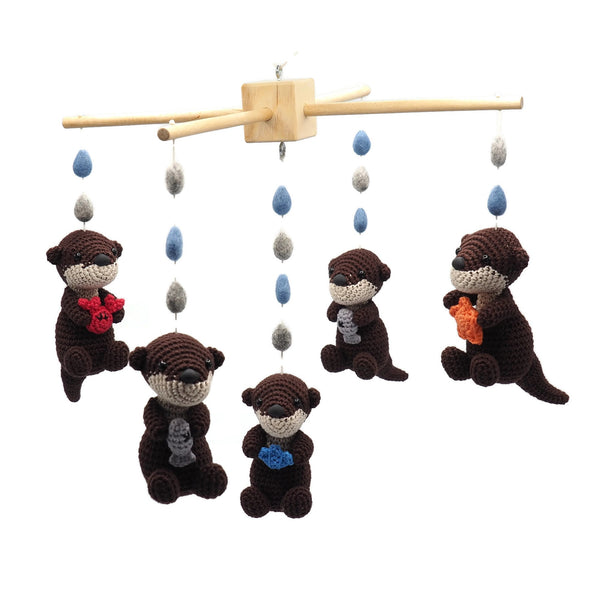 Baby Mobile Otters