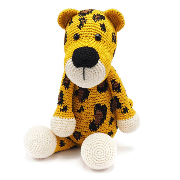 Stuffed Animal Leopard Luuk