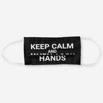 Load image into Gallery viewer, Keep Calm and Wash Your Hands Face Mask - Reusable Cloth Cover