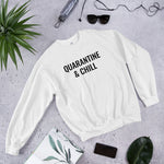 Load image into Gallery viewer, Quarantine And Chill Shirt Unisex Sweatshirt