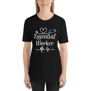 Essential Worker Stethoscope Heartbeat T-Shirt for Men & Women - Available in several colors