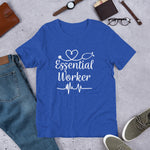 Load image into Gallery viewer, Essential Worker Stethoscope Heartbeat T-Shirt for Men & Women - Available in several colors