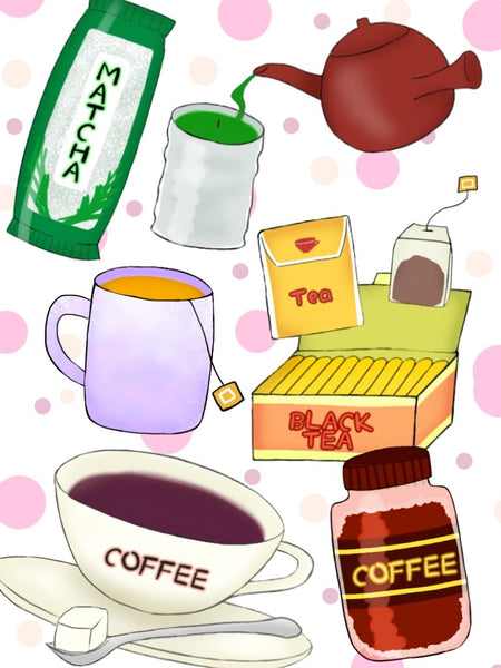Coffee and Tea コーヒーお茶