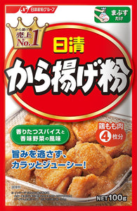 Nisshin Seifun Seasoning powder for Karaage / から揚げ粉 100g - Konbiniya Japan Centre