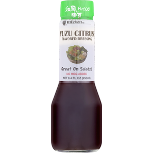 Mizkan Dressing Yuzu Citrus / ゆずシトラスドレッシング 250ml - Konbiniya Japan Centre