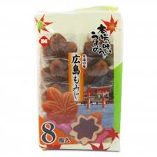 Hiroshima Maple Manju/広島もみじ  8 pcs - Konbiniya Japan Centre
