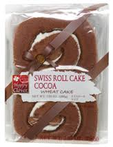 Swiss Roll Cake Chocolate /チョコレートロールケーキ - Konbiniya Japan Centre