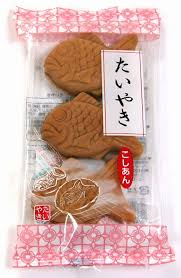 Sponge Cake with Red Bean Paste /たいやき  3 pcs - Konbiniya Japan Centre