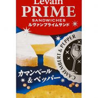 Levain Prime Sandwiches Camembert & Pepper / ルヴァンプライムサンド カマンベール&ペッパー 72g - Konbiniya Japan Centre