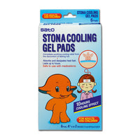 Stona Cooling gel pads/ 冷却ジェルシート 6pcs - Konbiniya Japan Centre