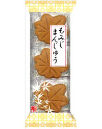 Sponge Cake with Red Bean/もみじまんじゅう  3 pcs - Konbiniya Japan Centre