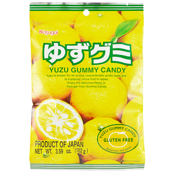 Yuzu Gummy Candy /ゆずグミ  102g - Konbiniya Japan Centre