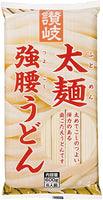 Dried Udon Thick Noodle / 太麺強腰うどん 600g - Konbiniya Japan Centre