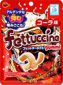 Fettuccine Gummy Candy Cola /  フェットチーネグミ コーラ 50g - Konbiniya Japan Centre