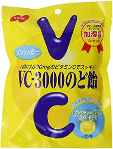 NOBEL VC-3000 Cough Drop Lemon / VC-3000 のど飴 レモン 90g - Konbiniya Japan Centre