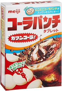 Meiji Cola Punch tablet Candy / コーラパンチ 18tablets - Konbiniya Japan Centre