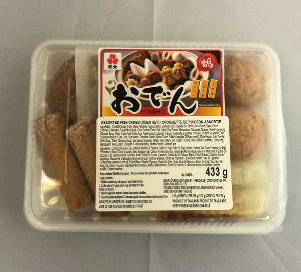 Kibun Oden Set (Assorted Fish Cakes) / おでんセット 433g - Konbiniya Japan Centre