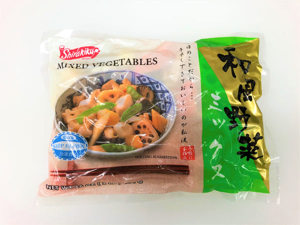 Mixed Vegetable / 和風野菜ミックス 1LB 454g - Konbiniya Japan Centre