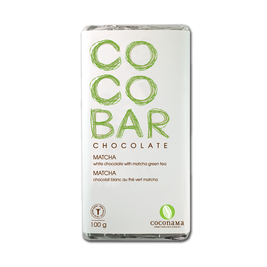 COCONAMA Matcha Chocolate Bar <br> 板チョコ 抹茶 - Konbiniya Japan Centre