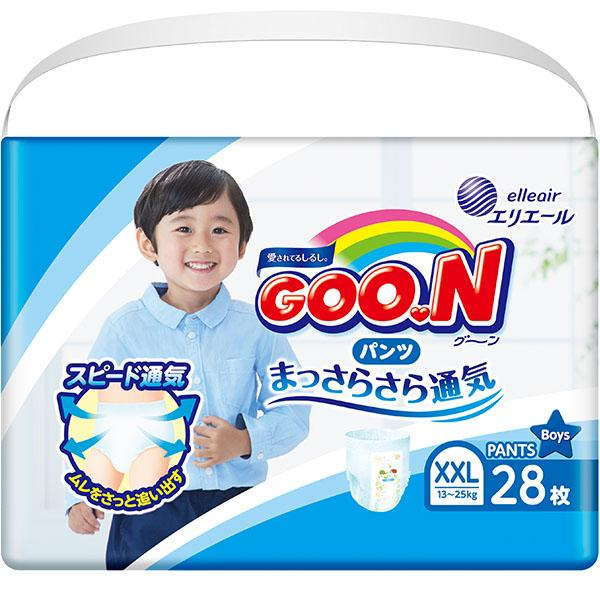GOON Baby Diaper Pants XXL 28ps for Boys グーンパンツ男の子用 - Konbiniya Japan Centre