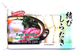 Shirataki Tied Noodle White / 結びしらたき  250g - Konbiniya Japan Centre