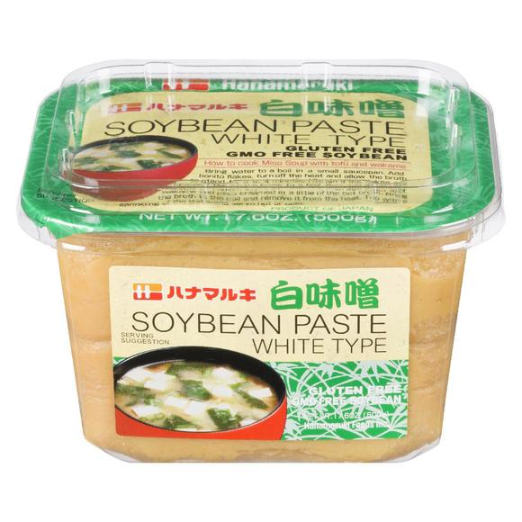 White Soy Bean Paste / 白味噌 500g - Konbiniya Japan Centre