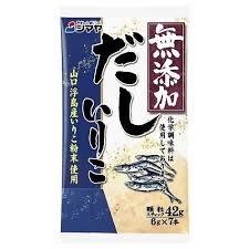 Shimaya Additive Free Iriko dashi (Soup Base) / 無添加いりこ だしの素 42g - Konbiniya Japan Centre