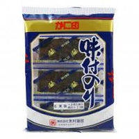 Kani Jirushi Ajitsuke Nori Seasoned Seaweed / 味付のり 6packs - Konbiniya Japan Centre