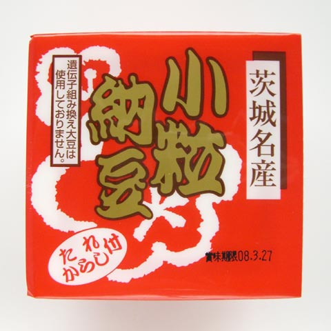 Kotsubu (Small Bean) Natto (Fermented Soy Bean) / 小粒納豆 3pcs 137g - Konbiniya Japan Centre