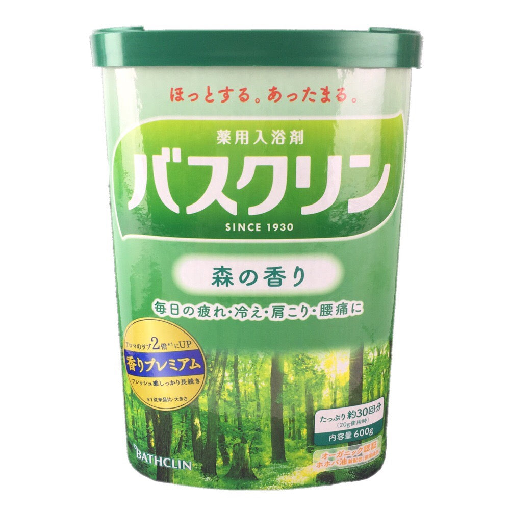 Bathclin (Bath Agents) forest / バスクリン 森の香り 600g (30 times) - Konbiniya Japan Centre