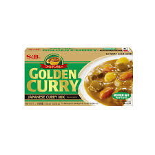 S&B Golden Curry (Medium) / ゴールデンカレー(中辛)220g North America Version - Konbiniya Japan Centre