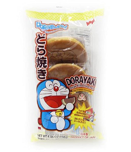 Dorayaki Doraemon Red Bean / どらやき ドラえもん 小倉  3 pcs - Konbiniya Japan Centre