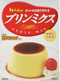 Purin Mix Custard Pudding Mix (Make with Hot water) / プリンミクス プリンミックス (お湯で作る)  77g - Konbiniya Japan Centre