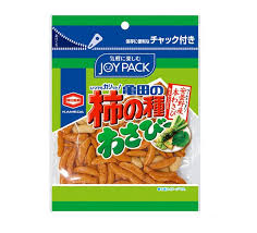 Kaki no Tane Joy Pack Wasabi / 柿の種 ジョイパック わさび  86g - Konbiniya Japan Centre