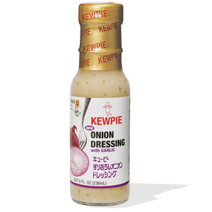 KEWPIE Onion Dressing with garlic / すりおろしオニオンドレッシング 236ml - Konbiniya Japan Centre