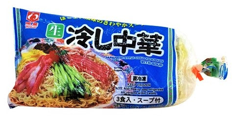 Japanese Style Cold Noodle / 冷し中華 3p 478g - Konbiniya Japan Centre