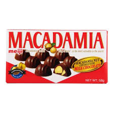 Meiji Macadamia Chocolate / マカダミアチョコレート  64g - Konbiniya Japan Centre