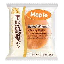 Natural yeast bread (Maple) / 天然酵母パン (メープル) 80g - Konbiniya Japan Centre