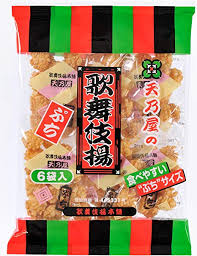 Mini Rice Cracker Kabukiage / ぷち歌舞伎揚げ  6 pcs - Konbiniya Japan Centre