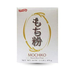 Shirakiku Mochiko Sweet Rice Flour / もちこ 454g - Konbiniya Japan Centre