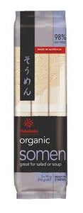 Organic Somen /オーガニックそうめん  269g - Konbiniya Japan Centre