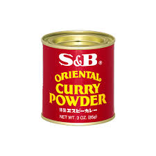 S&B Oriental Curry Powder / オリエンタルカレーパウダー 85g - Konbiniya Japan Centre