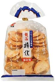 Rice Cracker Taruyaki  Salt/ 越後 樽焼き 旨塩  111g - Konbiniya Japan Centre