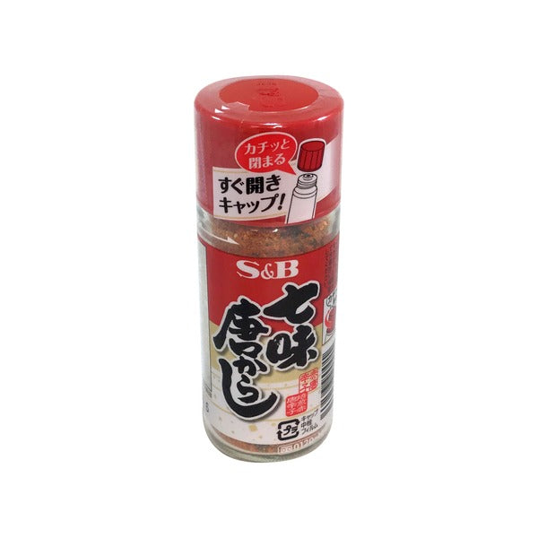 S&B Shichimi Chili Pepper / 七味唐辛子 28g - Konbiniya Japan Centre